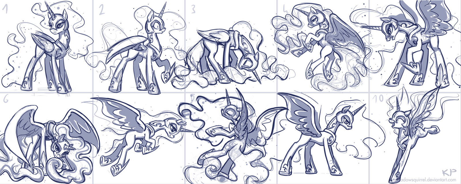 49 Pic Nightmare Moonprincess Luna - nightmare moon coloring pages
