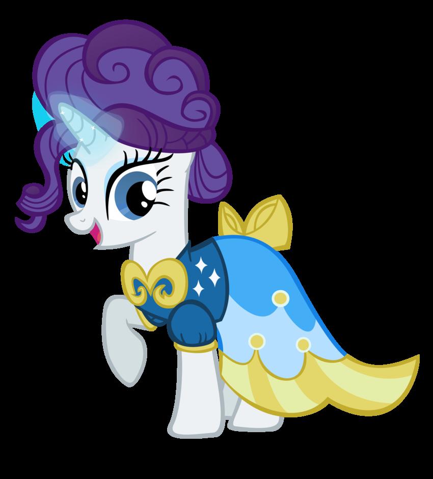 My little pony rarity gala dress